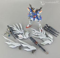 Picture of Wing Zero Gundam Custom EW with Drei Zwerg Built & Painted MG 1/100 Model Kit