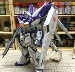 Picture of Hi-Nu Gundam Ver Ka Built & Painted MG 1/100 Model Kit