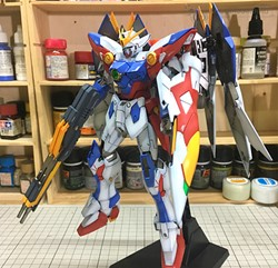 Picture of Wing Gundam Proto Zero Built & Painted MG 1/100 Model Kit