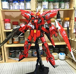 Picture of Aegis Gundam Built & Painted MG 1/100 Model Kit