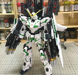 Picture of Full Armor Unicorn Gundam Ver Ka Built & Painted MG 1/100 Model Kit