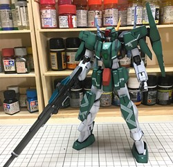 Picture of Cherudim Gundam Built & Painted 1/100 Model Kit
