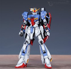 Picture of Z Gundam Built & Painted RG 1/144 Model Kit