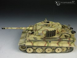 Picture of Tiger I Tank Middle Type Built & Painted 1/35 Model Kit
