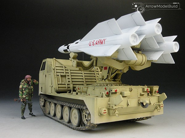 Picture of M727 MiM23 Tracked Guided Missile Carrier  Built & Painted 1/35 Model Kit