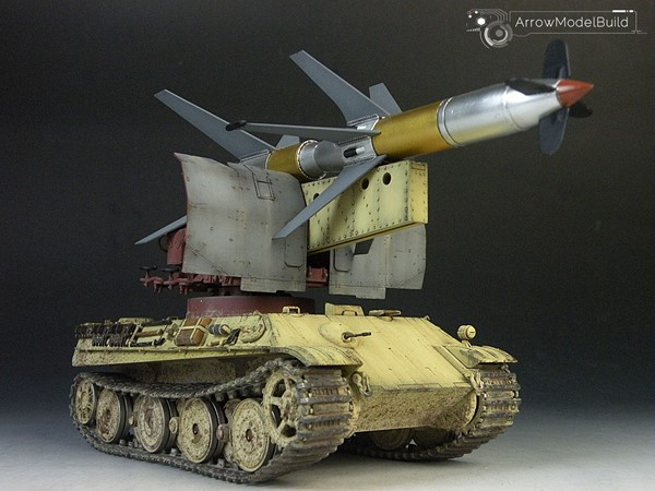 Picture of Rheintochter R-1 Tank Built & Painted 1/35 Model Kit