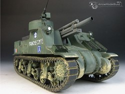 Picture of  M7 Priest Military Vehicle Built & Painted 1/35 Model Kit