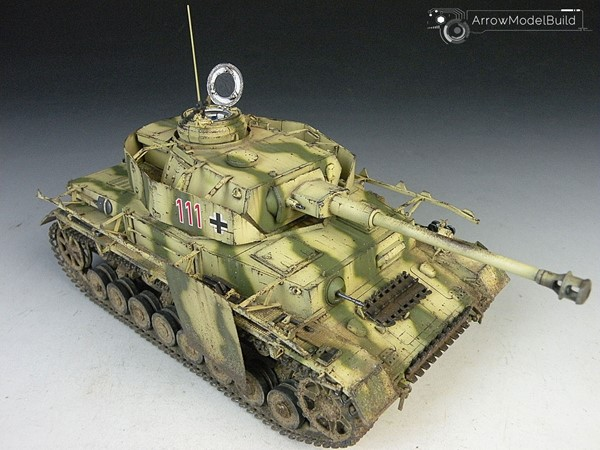 Picture of Panzer IV Tank Ausf. J Built & Painted 1/35 Model Kit