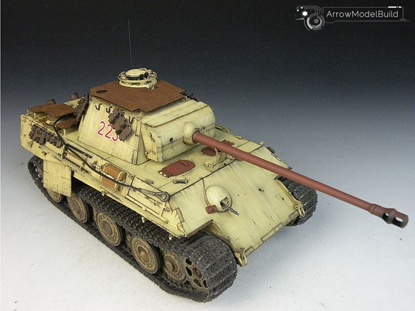 Picture of  Panther G Tank (Full Interior) Built & Painted 1/35 Model Kit