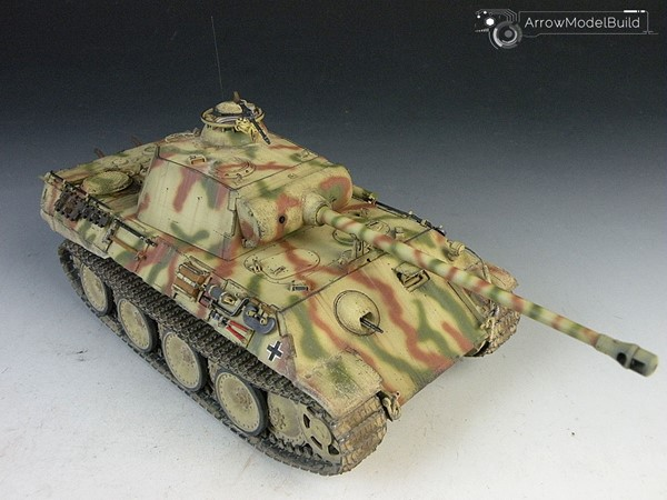Picture of  Panther Tank Built & Painted 1/35 Model Kit