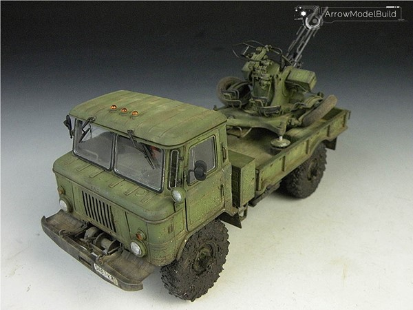 Picture of GAZ-66 Military Vehicle Built & Painted 1/35 Model Kit