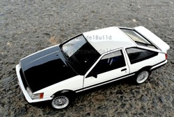 Picture of Initial D AE86 Built & Painted Vehicle Car 1/24 Model Kit ""