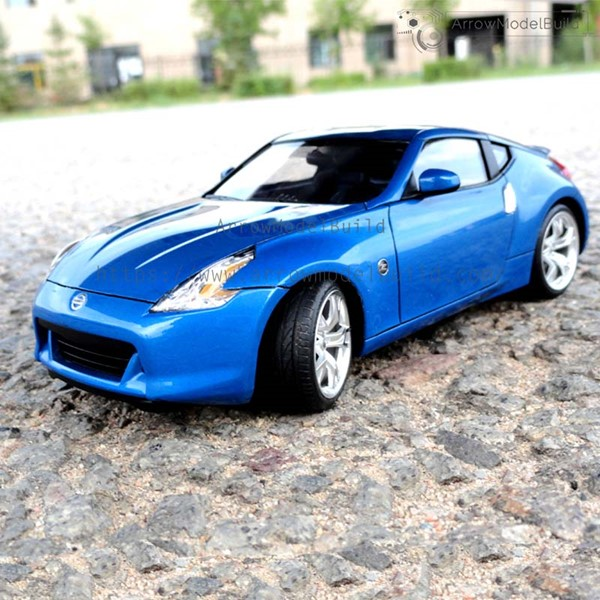 Picture of Nissan 370z Fairlady z34  Built & Painted Vehicle Car 1/24 Model Kit