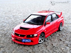 Picture of Mitsubishi Lancer Evolution IX EVO 9 Built & Painted Vehicle Car 1/24 Model Kit