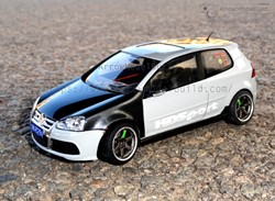 Picture of Volkswagen Golf R32 Built & Painted Vehicle Car 1/24 Model Kit ""