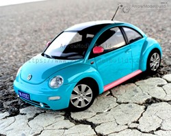 Picture of Volkswagen New Beetle Built & Painted Vehicle Car 1/24 Model Kit