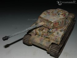 Picture of Tiger I Tank (In the Snow)  Built & Painted 1/35 Model Kit