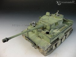 Picture of Tiger I Tank (Full Interior) Built & Painted 1/35 Model Kit