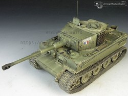 Picture of Tiger I Tank Late Version Built & Painted 1/35 Model Kit