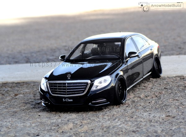 Picture of Mercedes-Benz S500 Custom Color(Black Warrior) 1/24 Model Kit