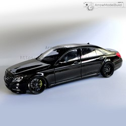 Picture of Mercedes-Benz S500 Custom Color(Black Overlord) 1/24 Model Kit