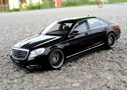 Picture of Mercedes-Benz S500 Custom Color(Black Special Version) 1/24 Model Kit