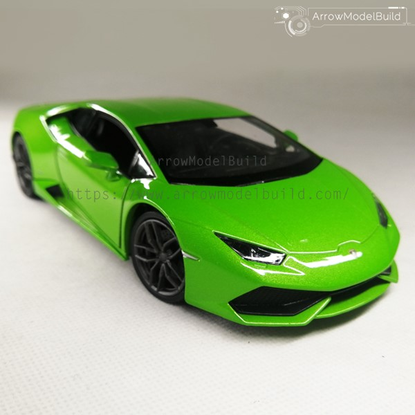 Picture of Lamborghini LP700 Custom Color (Ithaca Green Carbon Wheel ) 1/24 Model Kit