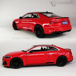 Picture of Audi RS5 Custom Color (Misano Red and Black Wheel Edition) 1/24 Model Kit