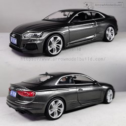Picture of Audi RS5 Custom Color (Manhattan Gray) 1/24 Model Kit