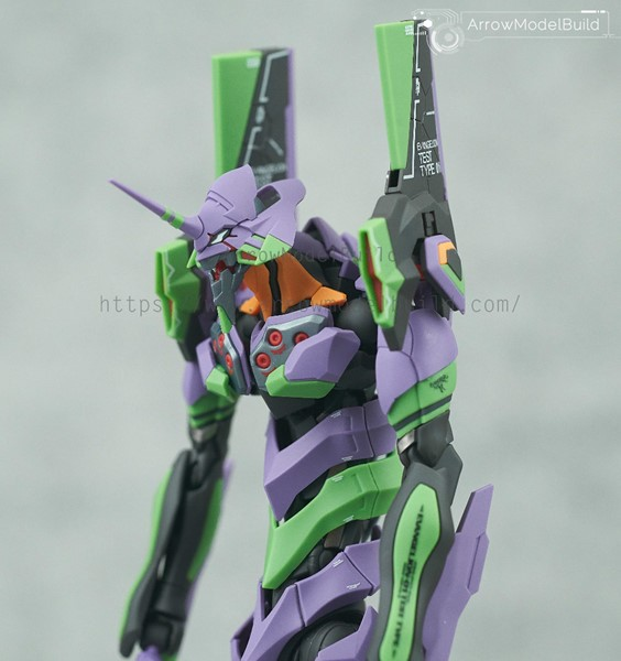 Picture of Evangelion Unit 01 Built & Painted Model Kit