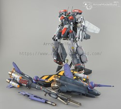 Picture of Macross VF-25F Armored Messiah Built & Painted 1/72 Model Kit