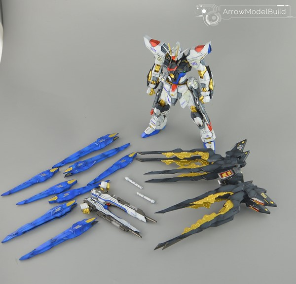 Picture of Strike Freedom Gundam Built & Painted MG 1/100 Model Kit