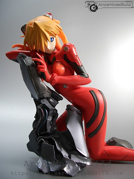 Picture of ArrowModelBuild Neon Genesis Evangelion Asuka 01 Built & Painted Resin Figure