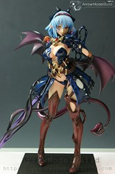 Picture of ArrowModelBuild Monster Girl Encyclopedia World Guide Built & Painted Resin Figure