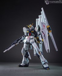Picture of ArrowModelBuild Nu Gundam (Metal) Built & Painted RG 1/144 Model Kit