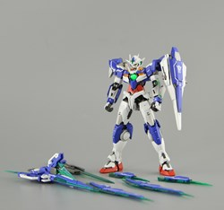 Picture of Gundam 00Q Full Saber Built & Painted RG 1/144 Model Kit