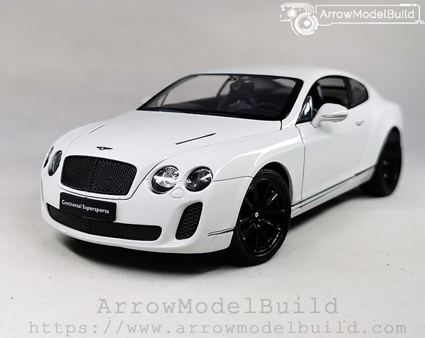 Picture of ArrowModelBuild Bentley Continental Custom Color (Pearl White) 1/24 Model Kit