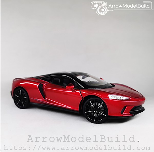 Picture of ArrowModelBuild McLaren 675LT Custom Color (Citi Red - Refined Edition) 1/24 Model Kit