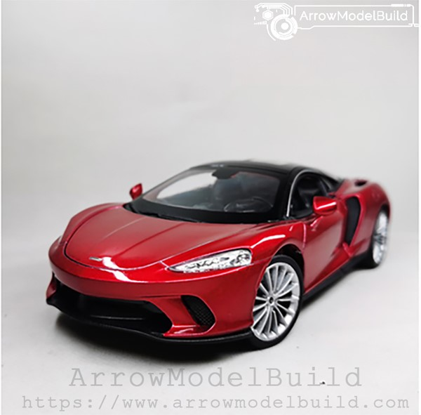 Picture of ArrowModelBuild McLaren 675LT Custom Color (Citi Red) 1/24 Model Kit