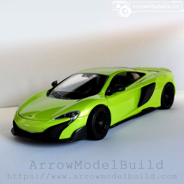 Picture of ArrowModelBuild McLaren 675LT Custom Color (Green) 1/24 Model Kit