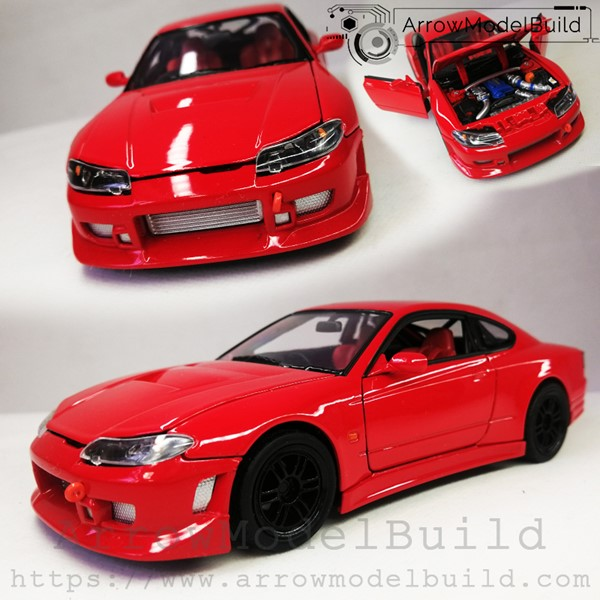 Picture of ArrowModelBuild Nissan S15 (Red) 1/24 Model Kit