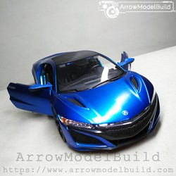Picture of ArrrowModelBuild Honda NSX Custom Color (Zaguran) 1/24 Model Kit
