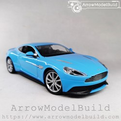 Picture of ArrowModelBuid Aston Martin Vanquish (Baby Blue) 1/24 Model Kit
