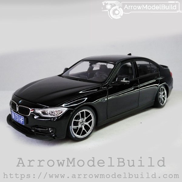 Picture of ArrowModelBuild BMW 330i BBS SR (Yaoye Black) Low Profile Modification 1/24 Model Kit