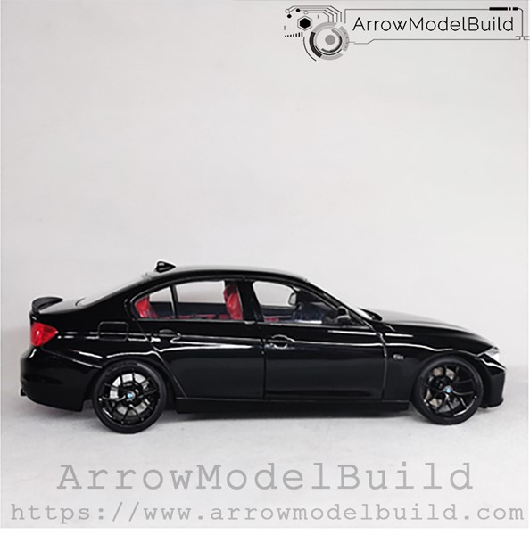 Picture of ArrowModelBuild BMW 3 Series (Black Samurai) Red and Black Interior Edition 1/24 Model Kit