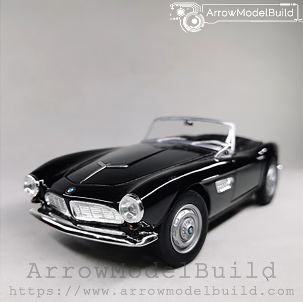 Picture of ArrowModelBuild BMW 507 (Black Convertible) 1/24 Model Kit