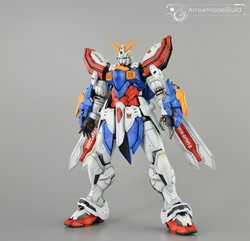 Picture of God Gundam Built & Painted HIRM 1/100 Model Kit