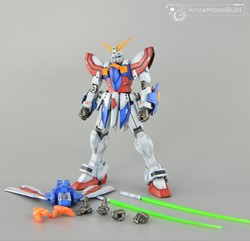 Picture of God Gundam Built & Painted MG 1/100 Model Kit