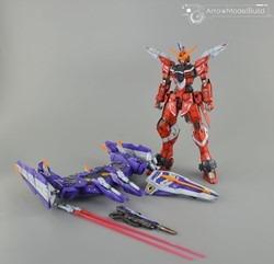 Picture of Justice Gundam Metal Frame Built & Painted MG 1/100 Model Kit